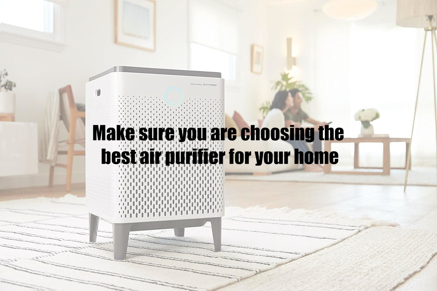 Make sure you are choosing the best air purifier for your home